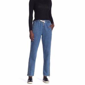 NWT Rag & Bone Denim Track Pants